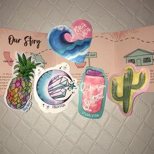 Pura Vida 2019 Summer Sticker Pack
